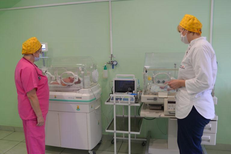 Відділення неонатального догляду та лікування новонароджених