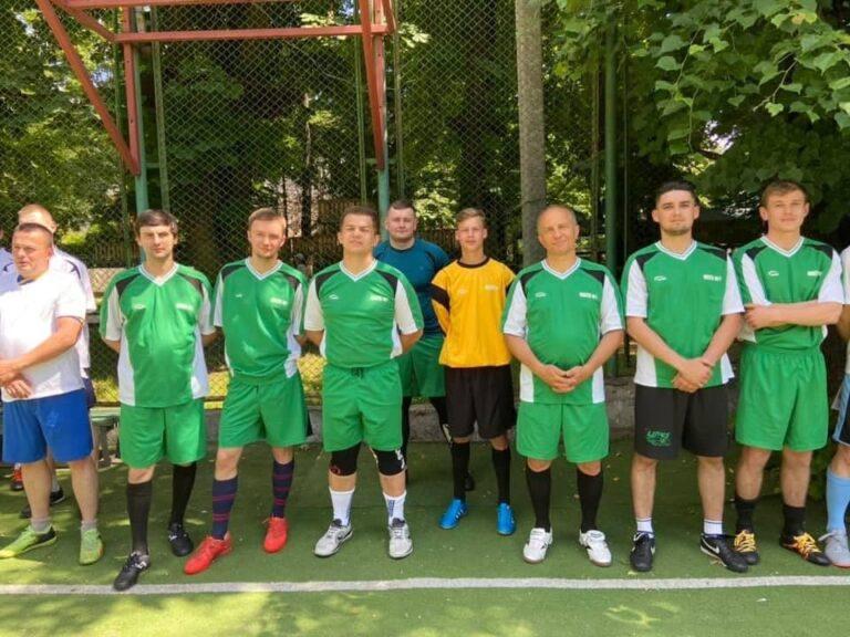 Пам'ятний футбольний матч,присвячений заслуженому лікарю України Богдану Лисовичу